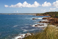 Jersey Coastline, Channel Island, UK Stock Images