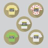 Jersey de ciclo del diseño plano moderno Fotografía de archivo