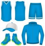 Jersey di pallacanestro, uniforme di pallacanestro, abiti sportivi Fotografia Stock Libera da Diritti