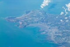 Jersey från luften Royaltyfri Foto