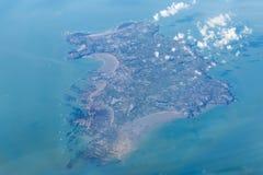Jersey från luften arkivfoto
