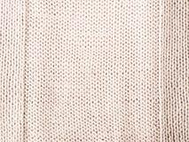 Jersey hecho punto como fondo Foto de archivo libre de regalías