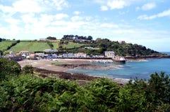 Jersey-Insel--Rozelbucht stockfoto
