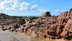 Jersey Island Royalty Free Stock Photos