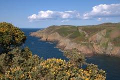 Jersey-Küstenlinie Stockbild