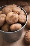 Jersey kungliga nya potatisar Royaltyfri Fotografi