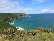 Jersey kustlinje Fotografering för Bildbyråer
