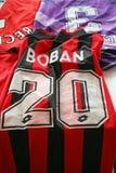Jersey original del fútbol de Boban Fotografía de archivo libre de regalías