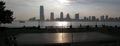 Jersey-Panorama Lizenzfreie Stockfotos