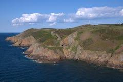 Jersey popular coastline Royalty Free Stock Photo