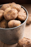Jersey Royal New Potatoes Royalty Free Stock Images