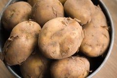 Jersey Royal New Potatoes Royalty Free Stock Photo