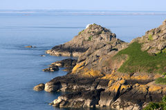 Jersey seascape. Picture of jersey seascape, channel island Royalty Free Stock Image
