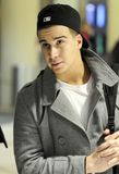 Jersey Shore actor Vinny at LAX Stock Photography