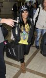 Jersey Shore actress Nicole aka Snooki at LAX Stock Photo