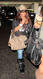 Jersey Shore star snooki at LAX Stock Photo