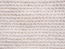 Jersey tricottato di colore chiaro come fondo Fotografie Stock