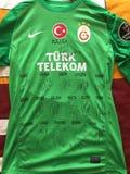 Jersey van Muslera van Galatasaray Stock Foto