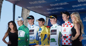 Jersey Winners 2013 Tour of California Royalty Free Stock Photos