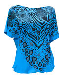 Jersey womans Bluse Stockfotografie