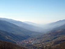 Jerte vallei Stock Fotografie