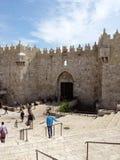 Jerusalém da porta de Damasco Fotografia de Stock