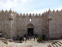 Jerusalém da porta de Damasco Imagens de Stock