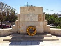 Jerusalém do memorial da Primeira Guerra Mundial Fotos de Stock