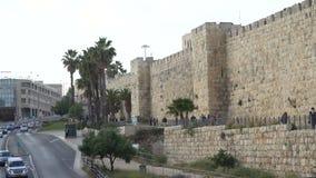 Jerusalém, Israel na torre de David filme