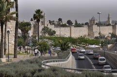 Jerusalém, rua de Jaffa Imagens de Stock Royalty Free