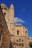 Jerusalén, abadía de Hadia Maria Sion Imagen de archivo
