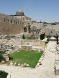 Jerusalén, ciudad vieja Fotografía de archivo libre de regalías