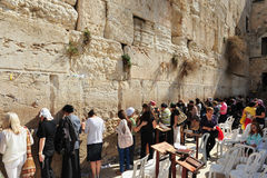 La pared que se lamenta - Israel Fotografía de archivo libre de regalías