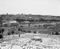 Jerusalén del montaje de aceitunas Foto de archivo libre de regalías