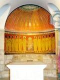 Jerusalén Dormition Abbey Chapel del Espíritu Santo 2012 Fotos de archivo libres de regalías