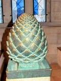 Jerusalén Dormition Abbey The Pine Cone 2012 Imágenes de archivo libres de regalías