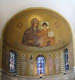 JERUSALÉN, ISRAEL - 15 DE JULIO DE 2015: Bóveda rico adornada en Fotos de archivo libres de regalías