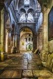 jerusalén Israel Iglesia santa del sepulcro Iglesia interior de Santo Sepulcro en Jerusalén Israel Fotos de archivo