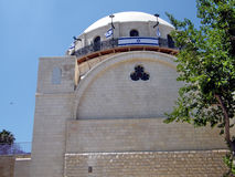 Jerusalén la sinagoga 2010 de Hurva Fotografía de archivo