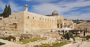 Jerusalén vieja Imagen de archivo libre de regalías