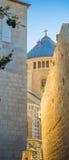 Jerusalén vieja Hagia Maria Sion Fotografía de archivo libre de regalías