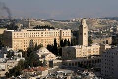 Jerusalén YMCA Foto de archivo libre de regalías