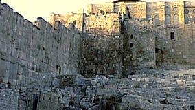 Jerusal?m da mesquita do al-Aqsa vídeos de arquivo