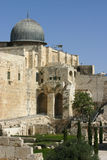 jerusale starożytnym Israel meczetu Obrazy Royalty Free