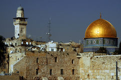 Jerusalem. The old city of jerusalem in israel Royalty Free Stock Photos