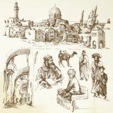 Jerusalem royalty free illustration