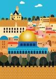 Jerusalem vektor abbildung