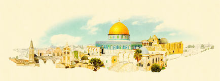 jerusalem Foto de Stock Royalty Free