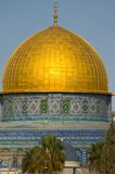 Jerusalem. Gold Dome Of The Rock In Jerusalem Stock Photography