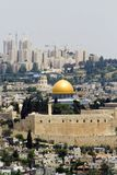 Jerusalem. Golden dome mosque, Jerusalem, Israel Stock Photography